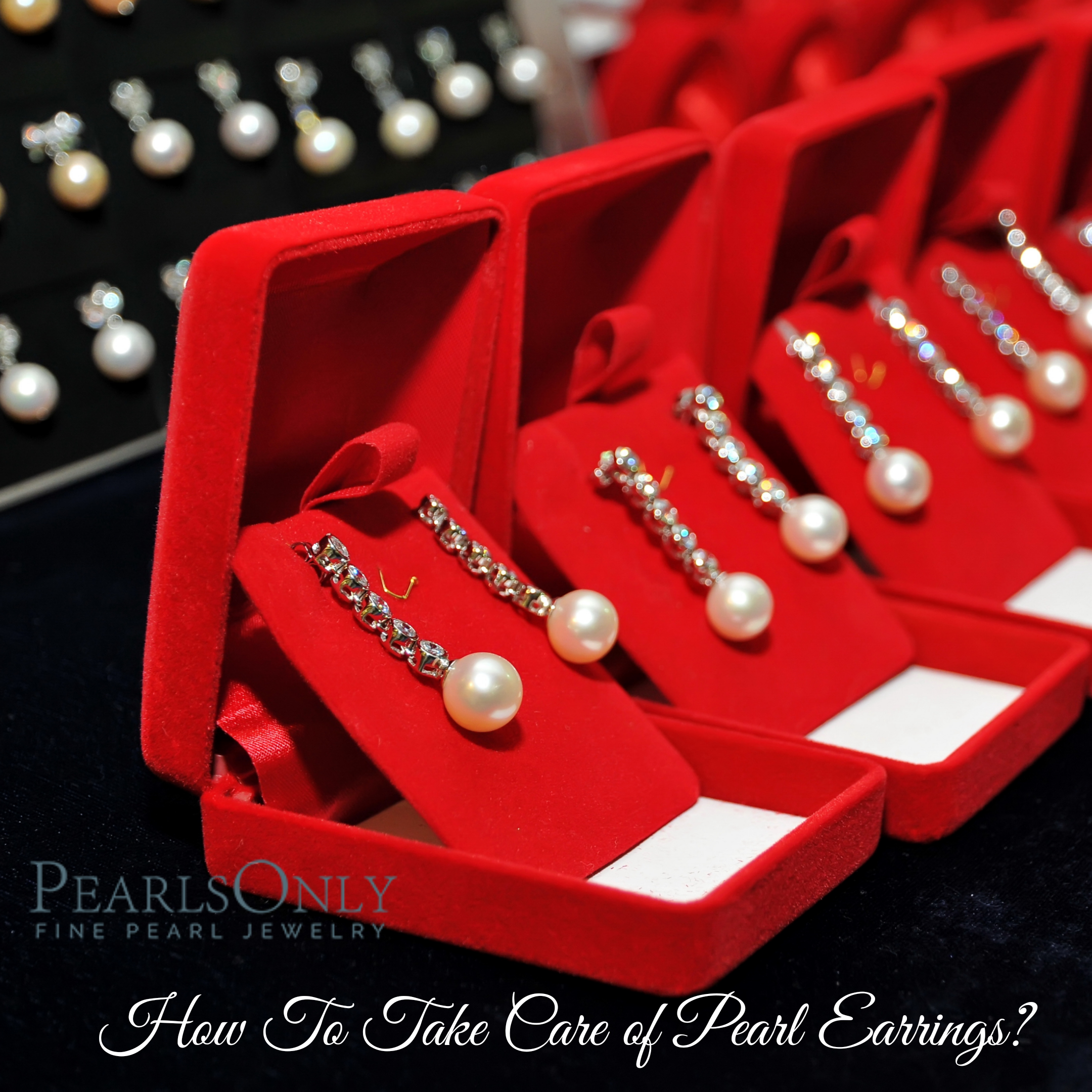 ho to take care of your pearl earrings