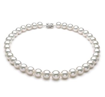 Halskette mit weißen, 11-14mm großen Südseeperlen in AAA+-Qualität , Dannika