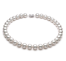 12-13mm AAA-Qualität Südsee Perlenhalskette in Emmea Weiß