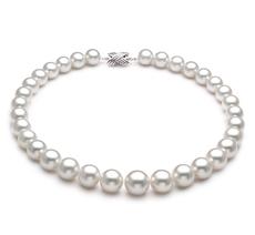 12-16mm AAA-Qualität Südsee Perlenhalskette in Enja Weiß