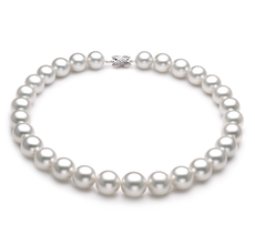 PearlsOnly - Halskette mit weißen, 14-17mm großen Südseeperlen in AAA-Qualität , Farina