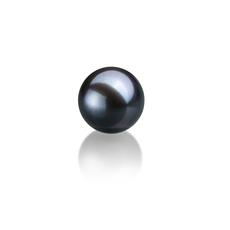 7-8mm AAAA-Qualität Süßwasser Einzelne Perlen in Ina Schwarz