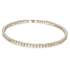 PearlsOnly - Halskette mit weißen, 5-5.5mm großen Süßwasserperlen in AA-Qualität , Katharina